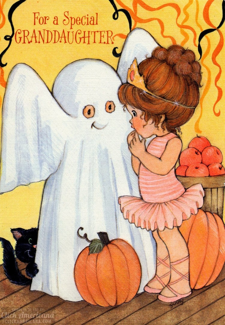 Halloween Featuring ghost and ballerina costumes (1977)
