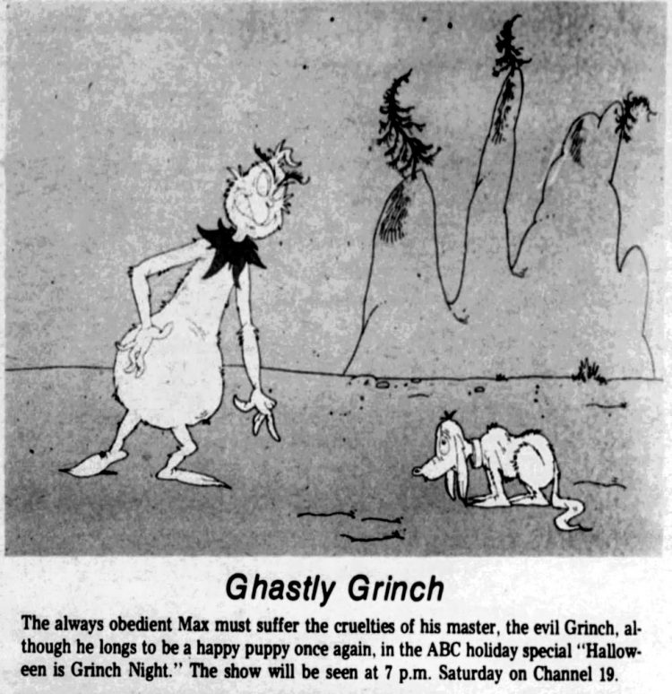 Halloween Is Grinch Night 1977