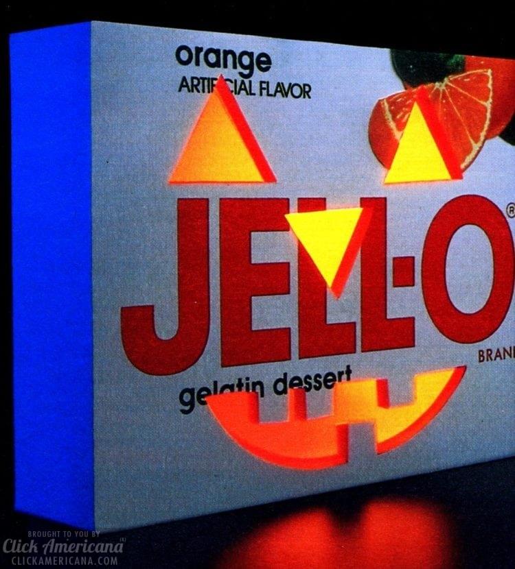 Halloween Jell-O desserts
