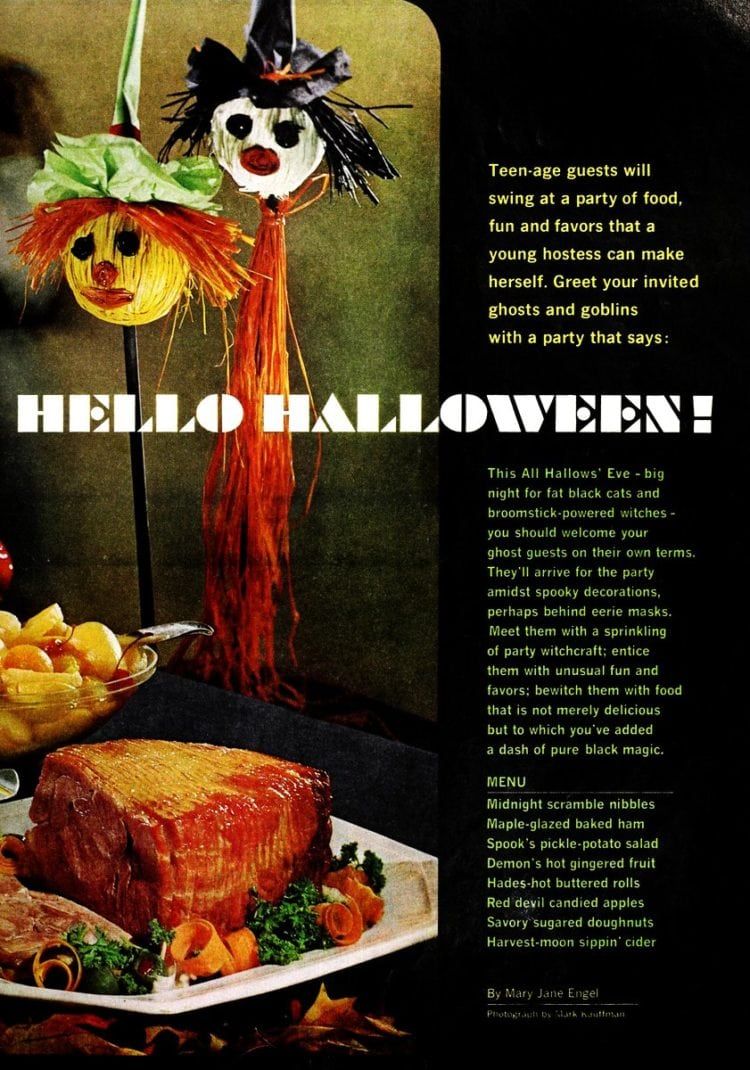 Celebrate Halloween with food and treats