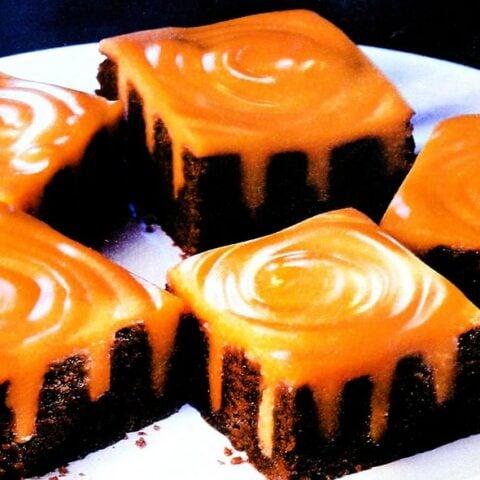 Halloween treat Baker's Broomstick Brownies recipe(1998)