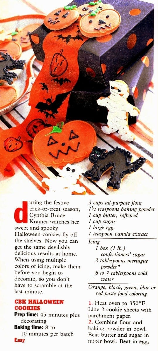 Frightfully fun-to-make Halloween treats (1998)