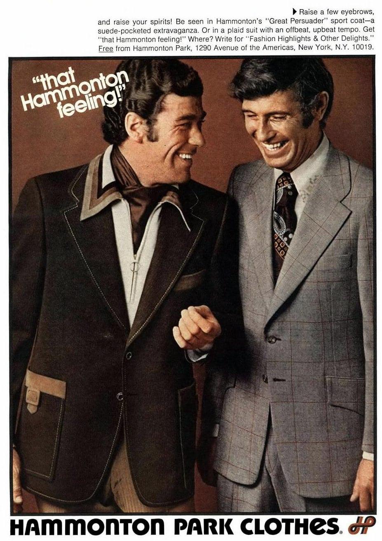 Hammonton Park brand fashionable menswear (1972)