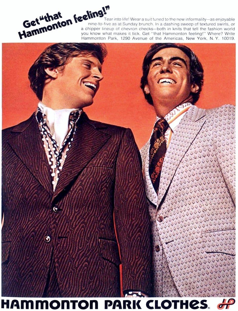 Hammonton Park brand menswear (1972)