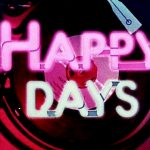 Happy Days TV show opening titles logo