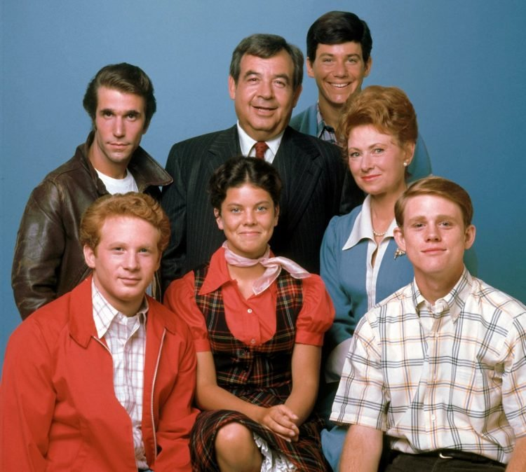 Happy Days cast photo
