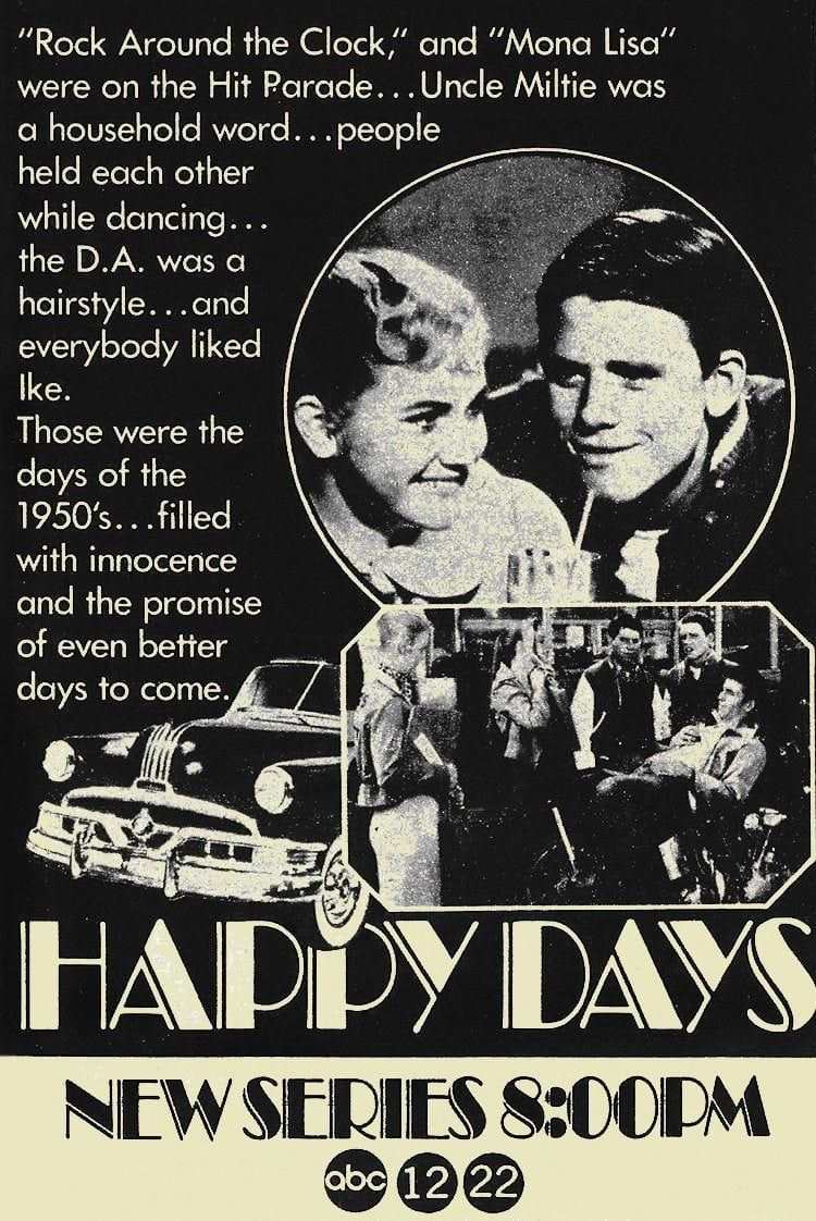 Happy Days debuts January 15 1974