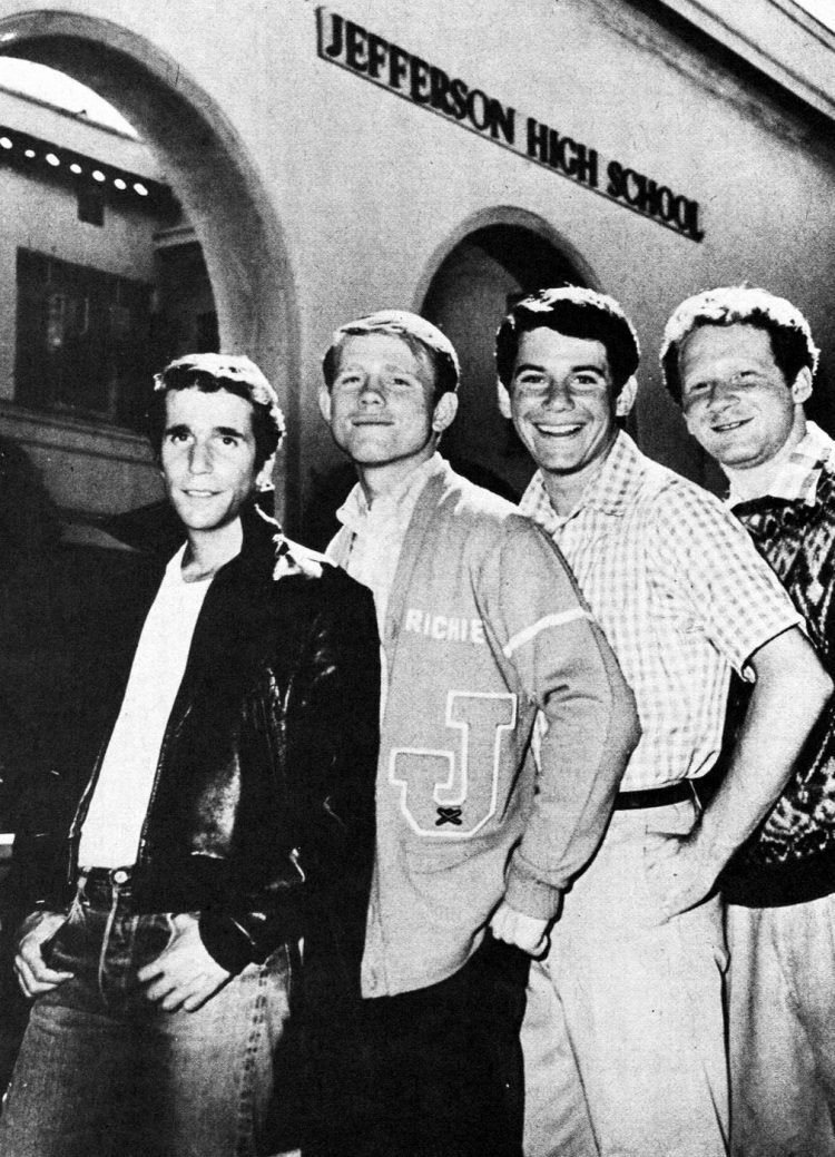 Happy Days main cast - The boys