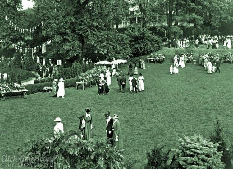 Hartsdale, Bronx, New York Garden party