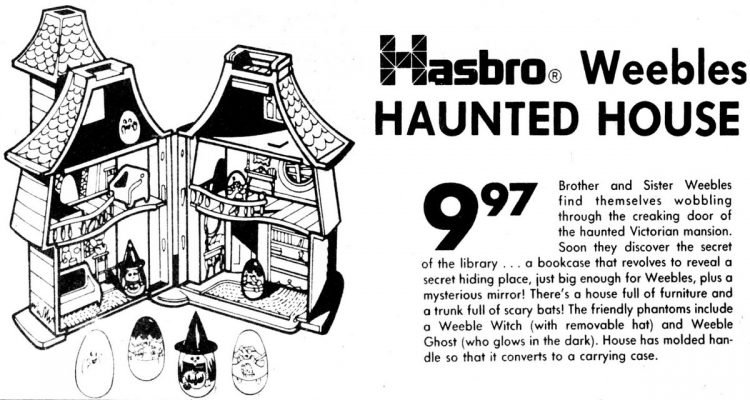 Hasbro Weebles Haunted House (1976)