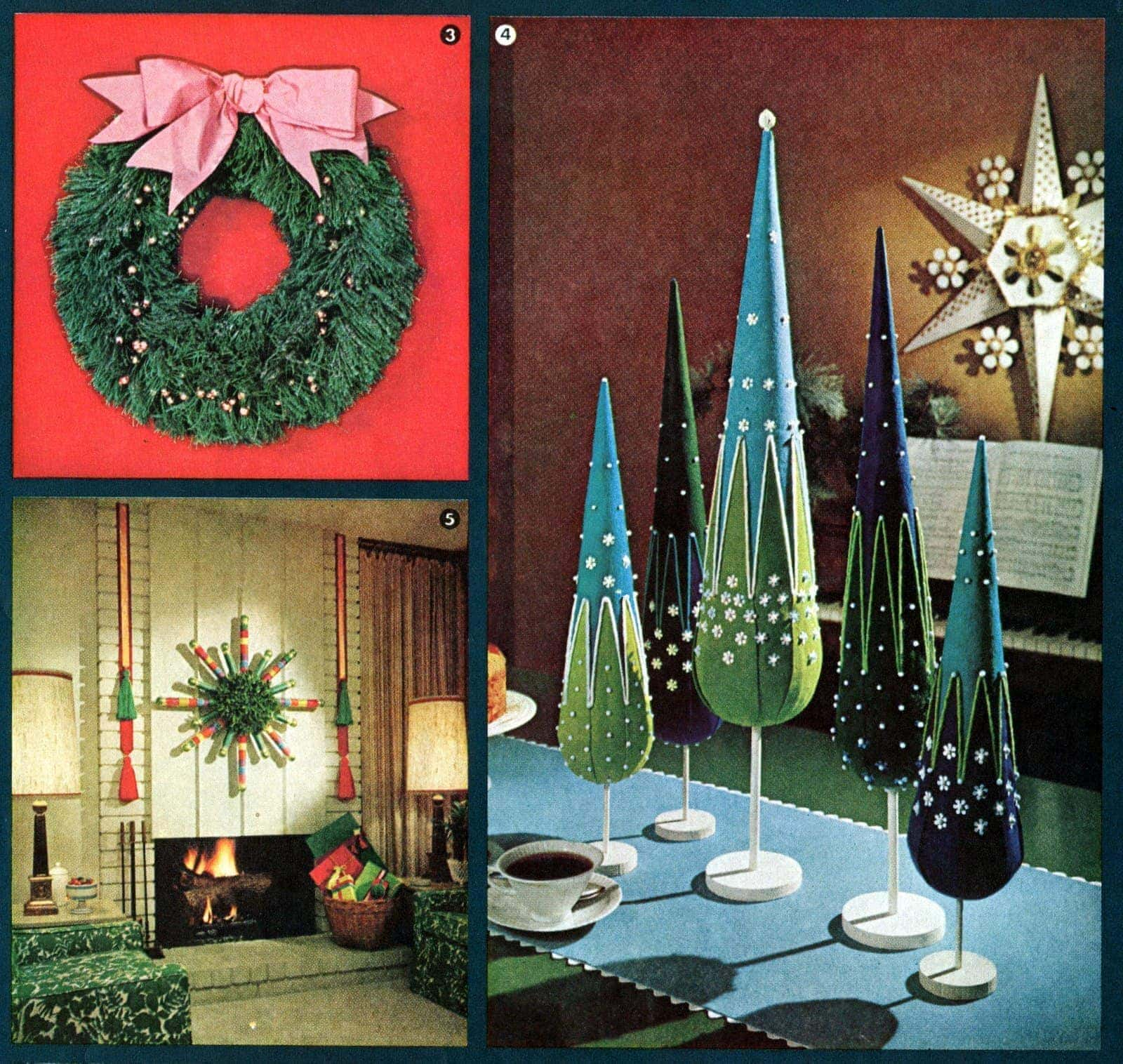 Retro Holiday Decor You Can Make (1964)  Click Americana