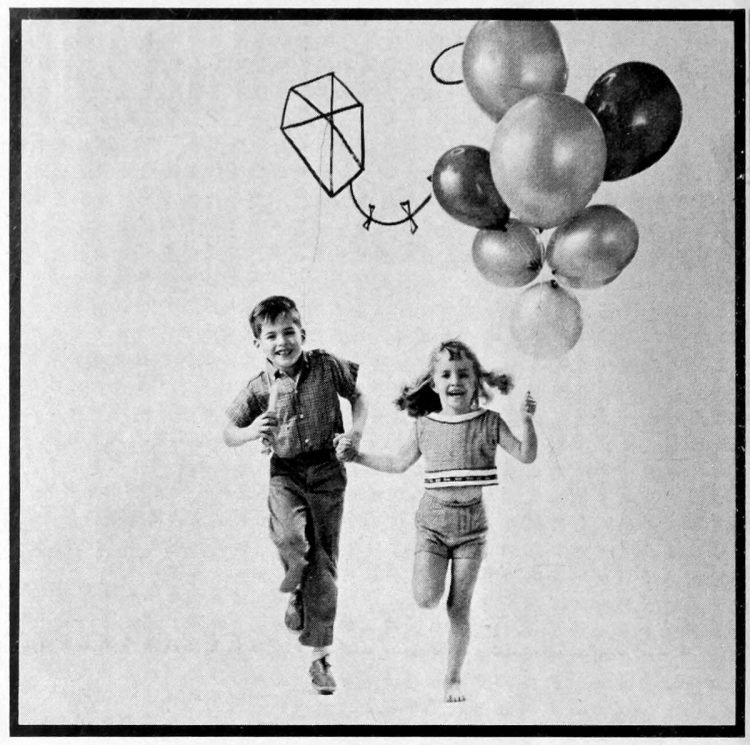 Having fun with things that fly for kids - ideas from the 1960s