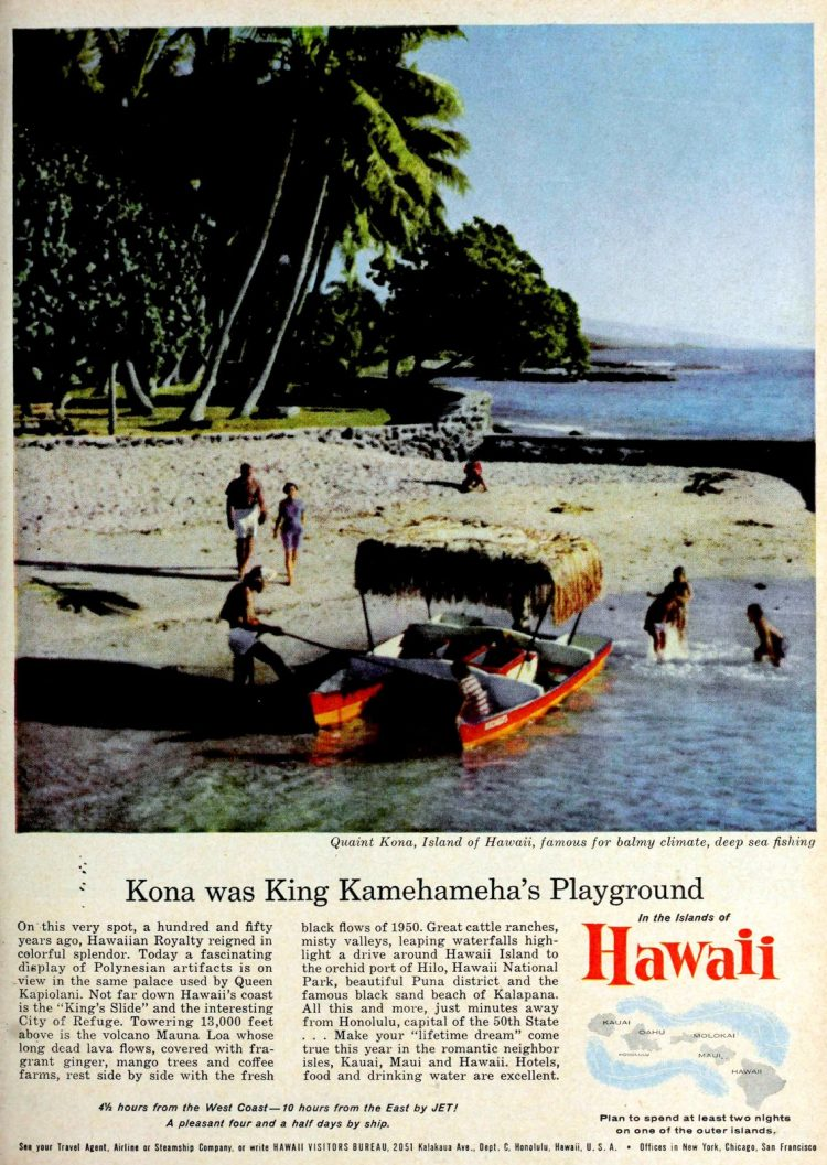 Hawaii in the 60s - Kona