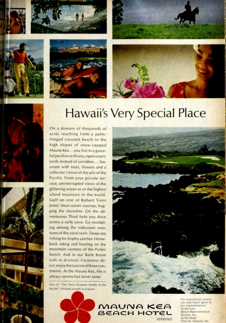 Hawaii in the 60s - Mauna Kea Beach Hotel