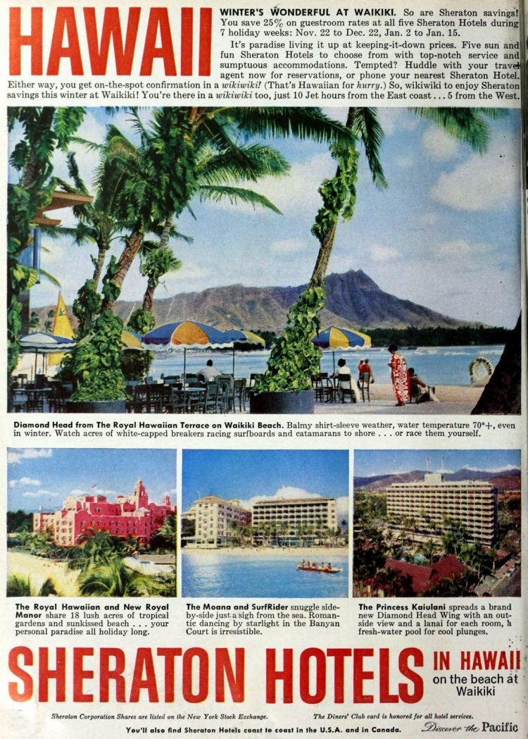 Hawaii in the 60s - Sheraton Hotels