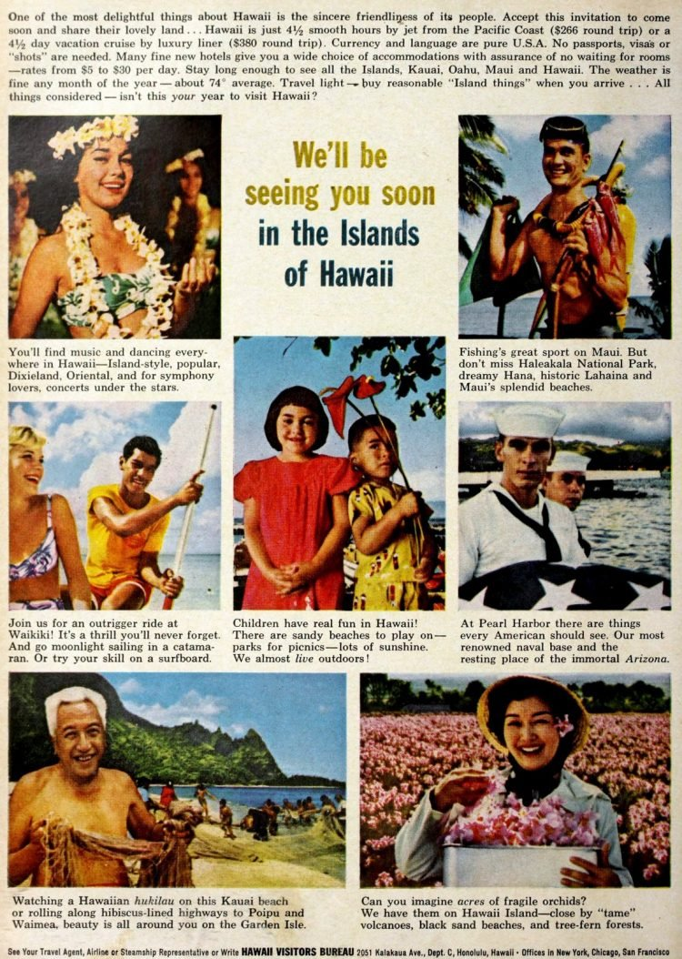 Hawaii in the 60s - Tourism in 1961