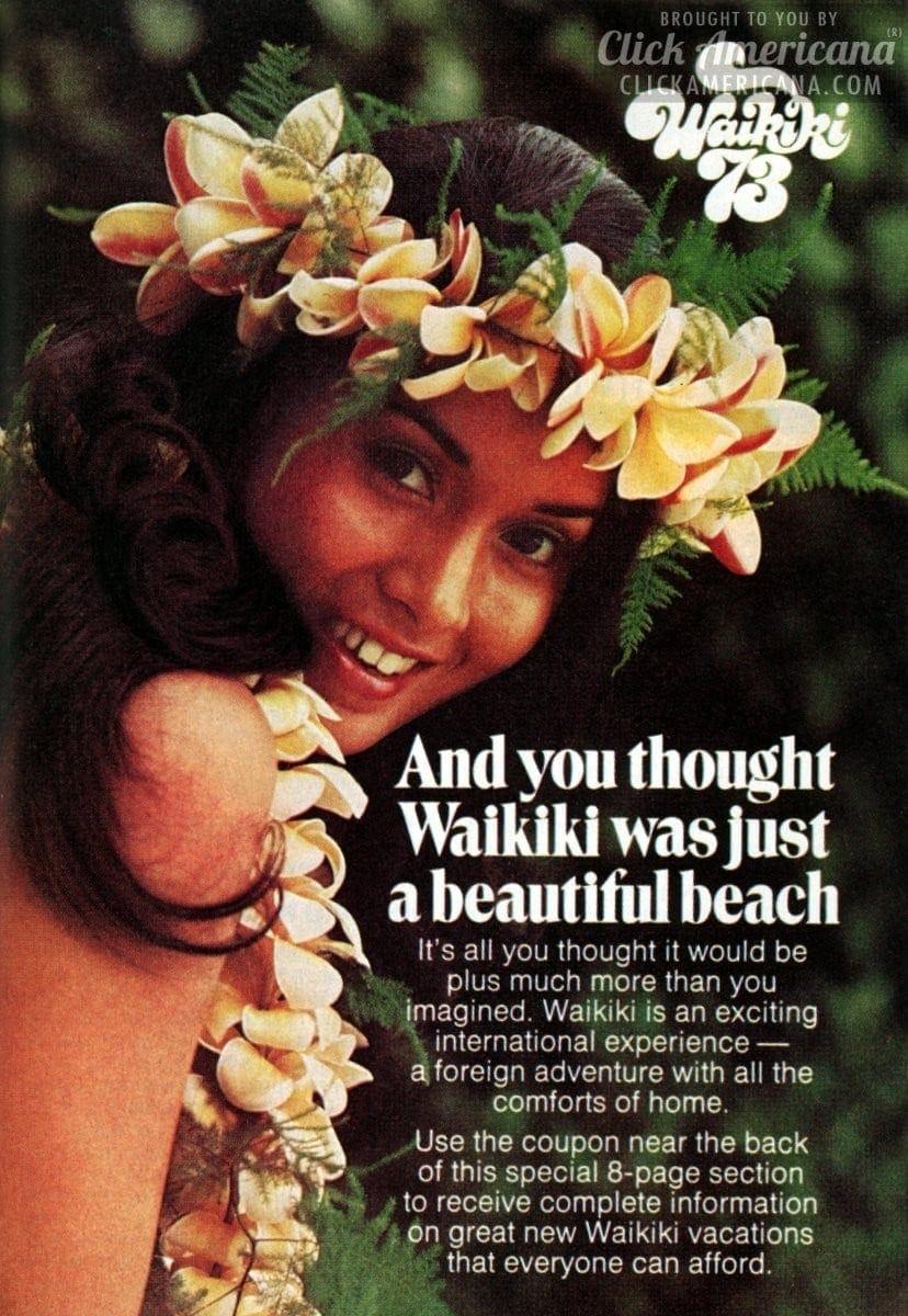 Hawaii time: Vacation in Waikiki in '73