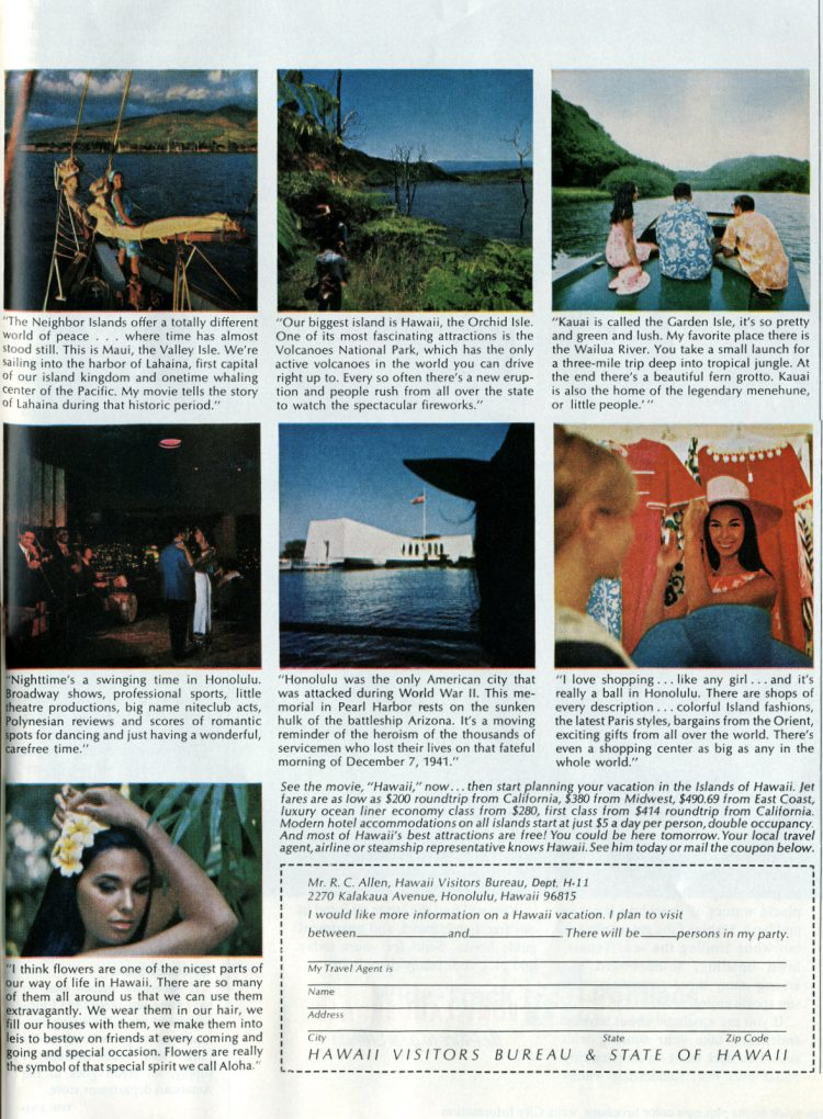 Hawaii tourism in the sixties - 1967 (1)