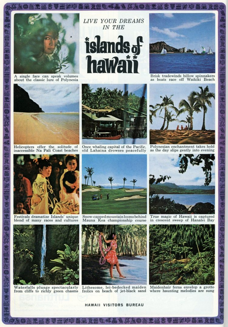 Hawaii tourism vintage info from 1965 (2)
