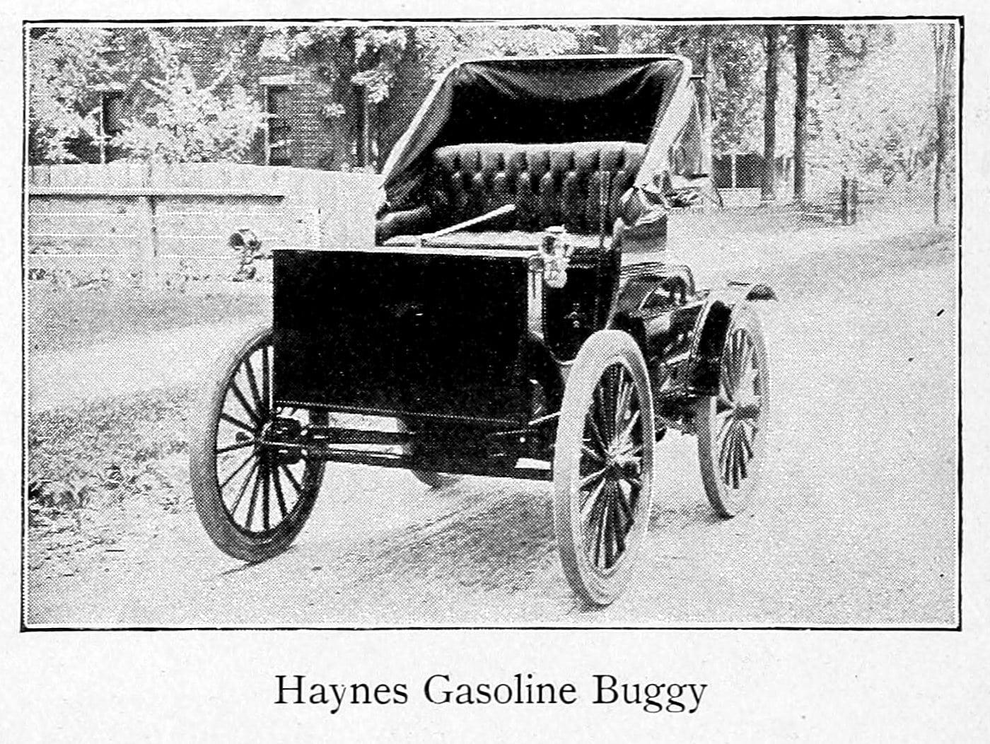Haynes gasoline buggy (1899)