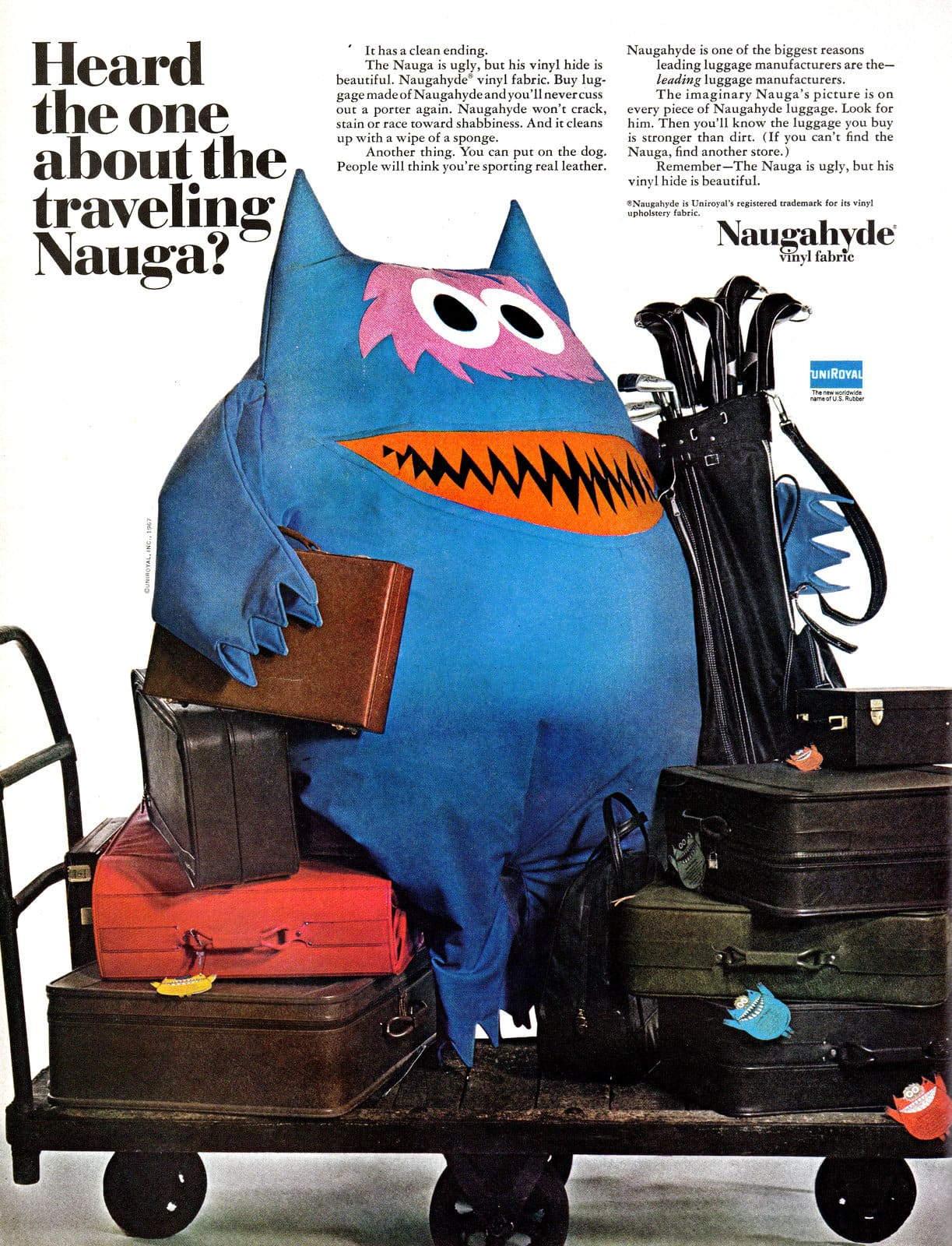 Heard the one about the traveling Nauga (1967)