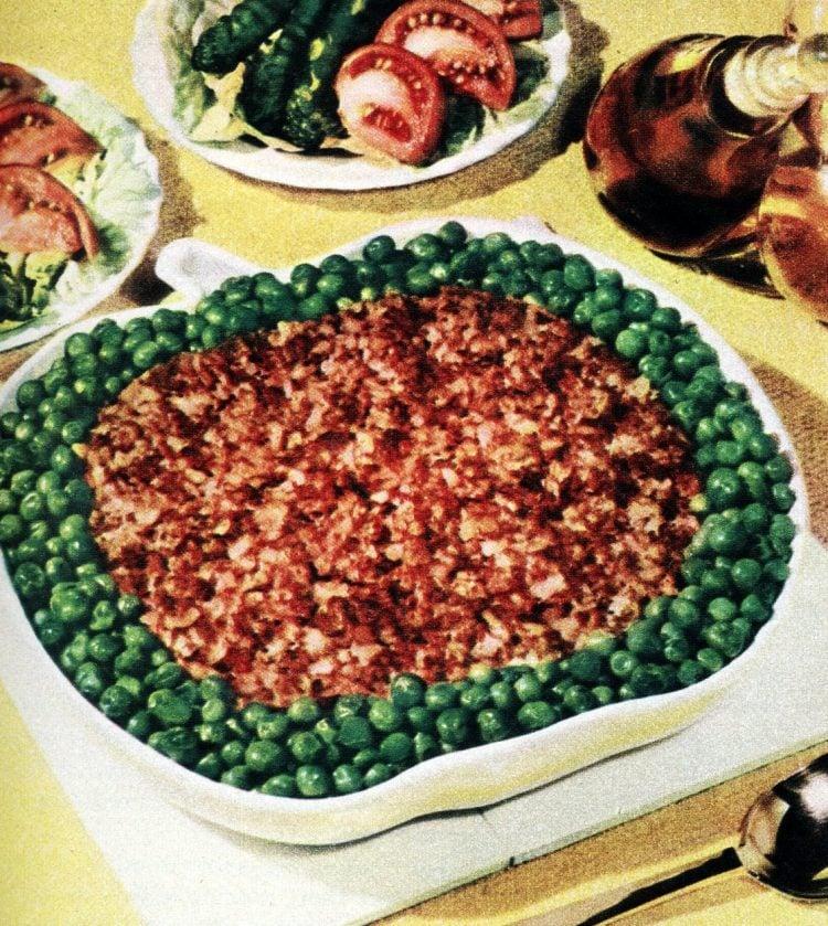 Hearty Hash Casserole recipe from 1955
