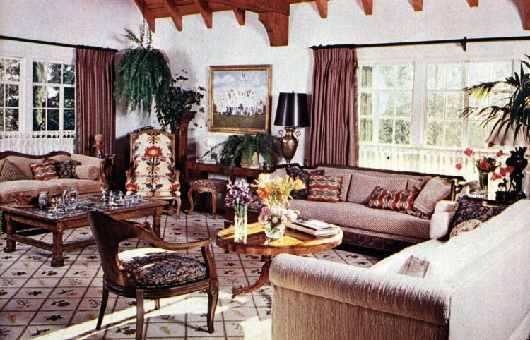 Helen Reddy See inside her beautiful California house in the '70s (3)