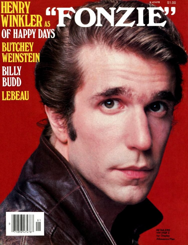 Henry Winkler as Fonzie of Happy Days