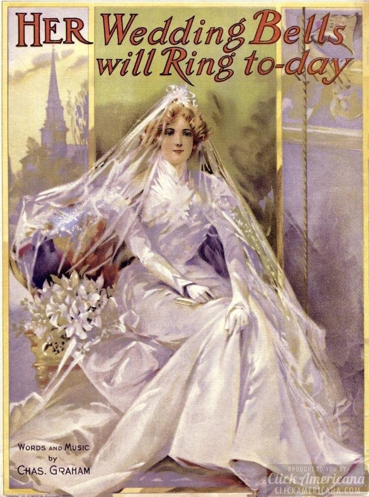 Her wedding bells sheet music - Bride