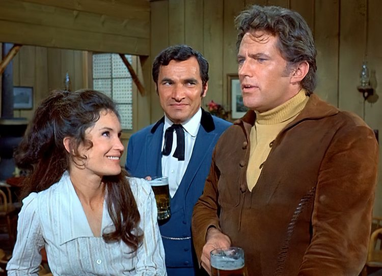 Here Come the Brides vintage TV show - Debt of Honor episode with Mark Lenard