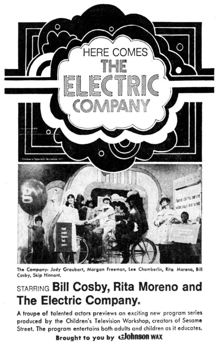 Here comes The Electric Company - debut from 1971