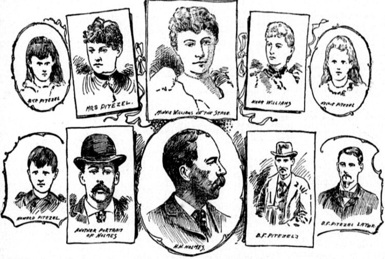 Serial killer H H Holmes hanged - Reported in the Phillipsburg Herald, August 22, 1895