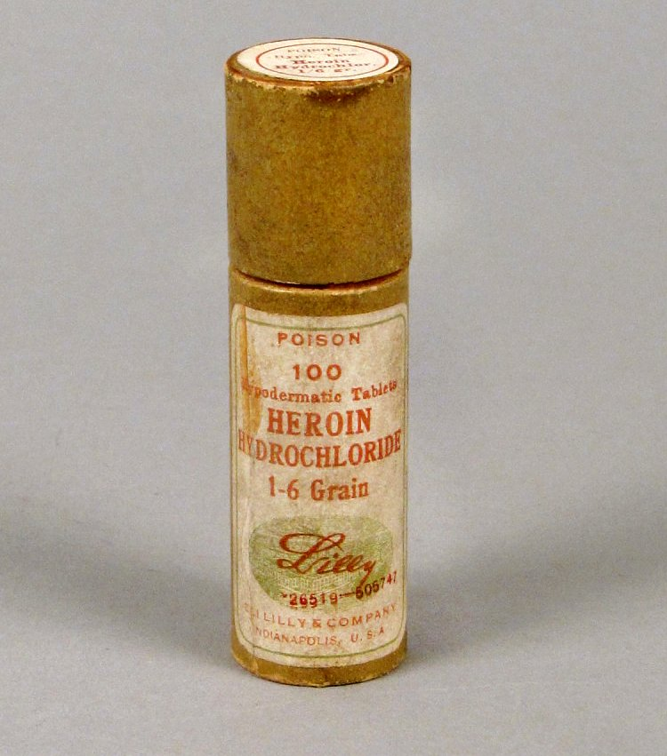 Heroin Hydrochloride - Eli Lilly and Company - Smithsonian CC0