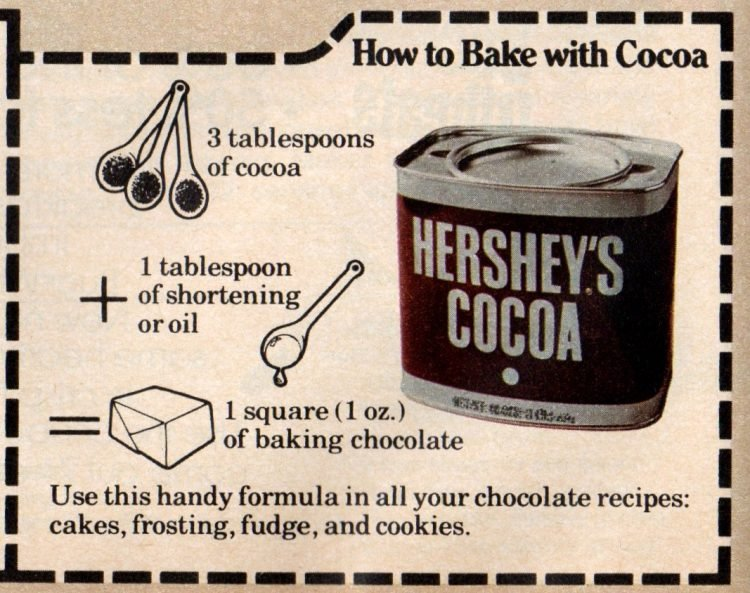 Hershey's Prize Chocolate cake recipe from 1978 (3)