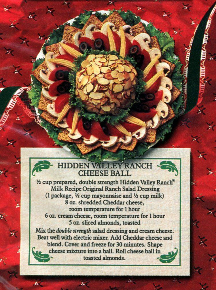Hidden Valley Ranch cheese ball recipes