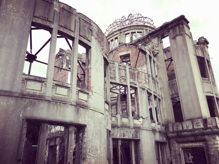 Hiroshima Peace MemorialGenbaku DomeAtomic Bomb Dome in Hiroshima, Japan