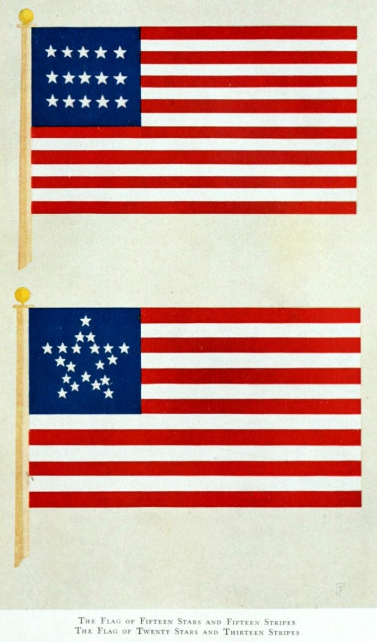 History of the American flag (7)