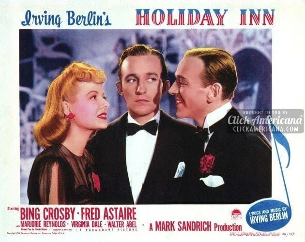Holiday Inn Starring Bing Crosby And Fred Astaire 1942