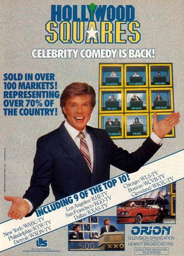 Hollywood Squares 1980s