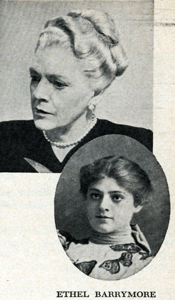 Hollywood's veteran actresses in 1950 - Ethel Barrymore