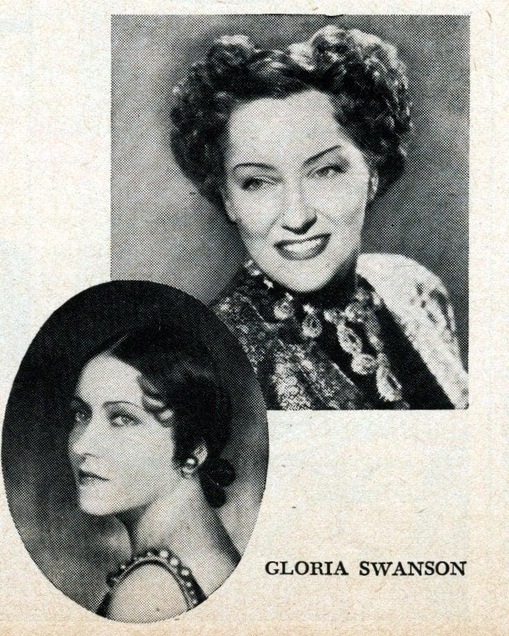 Hollywood's veteran actresses in 1950 - Gloria Swanson
