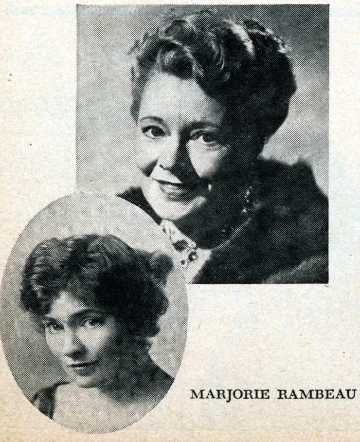 Hollywood's veteran actresses in 1950 - Marjorie Bambeau