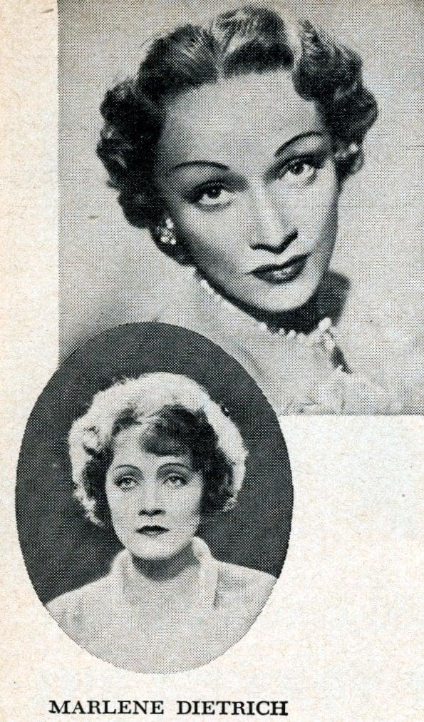 Hollywood's veteran actresses in 1950 - Marlene Dietrich