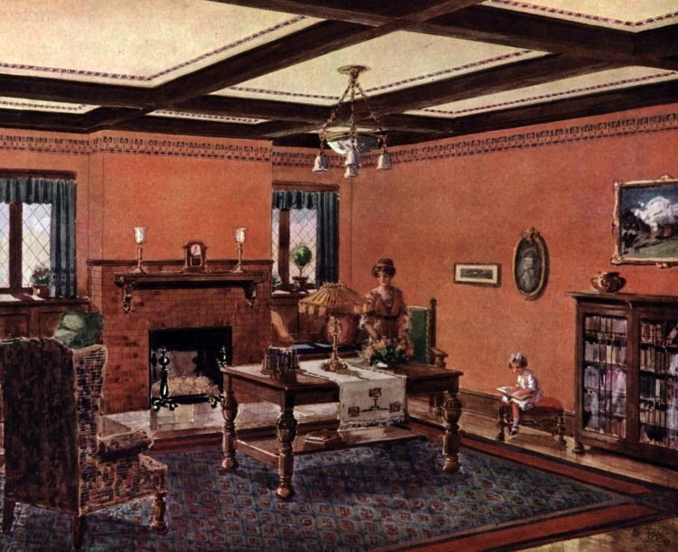 Home decor from 1913 (1)
