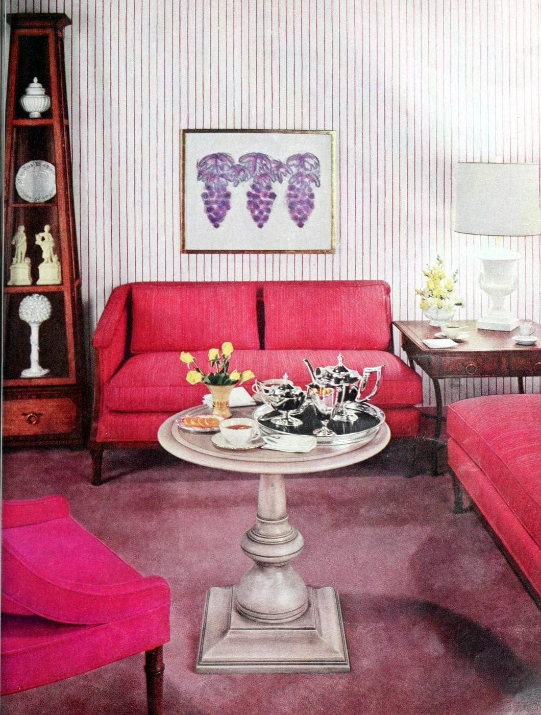 Home decor from 1959 - Coffee table and couches