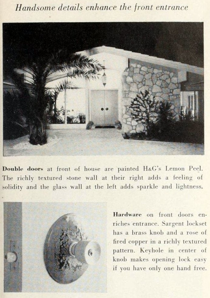 Home front doors - Double entryway