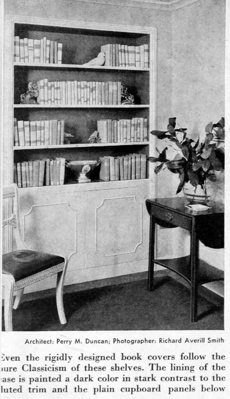 Home library - Books and shelving from 1941 (2)