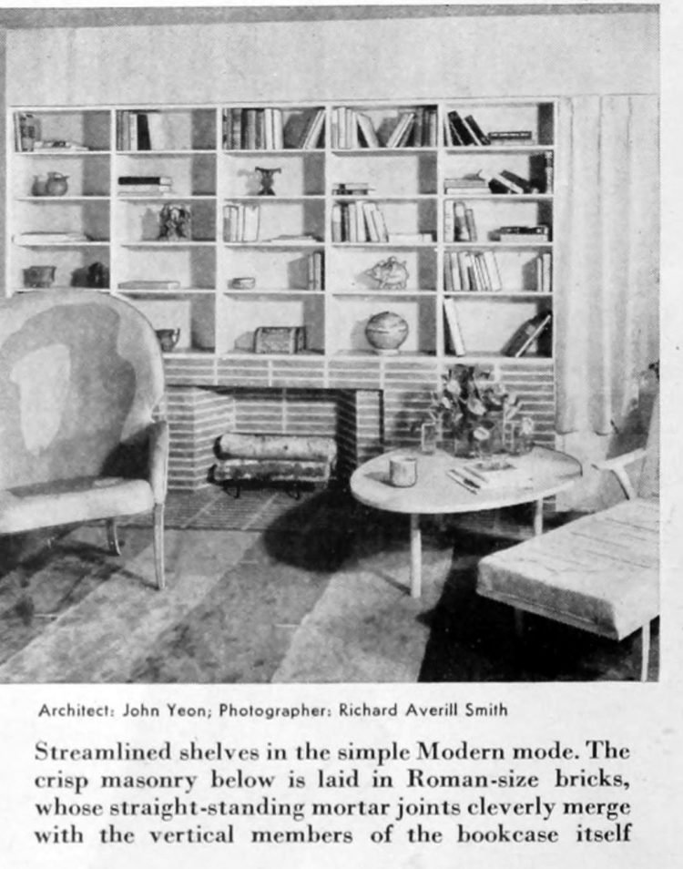 Home library - Books and shelving from 1941 (4)