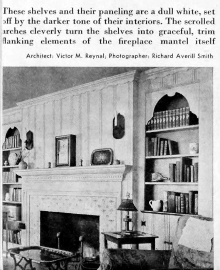 Home library - Books and shelving from 1941 (6)