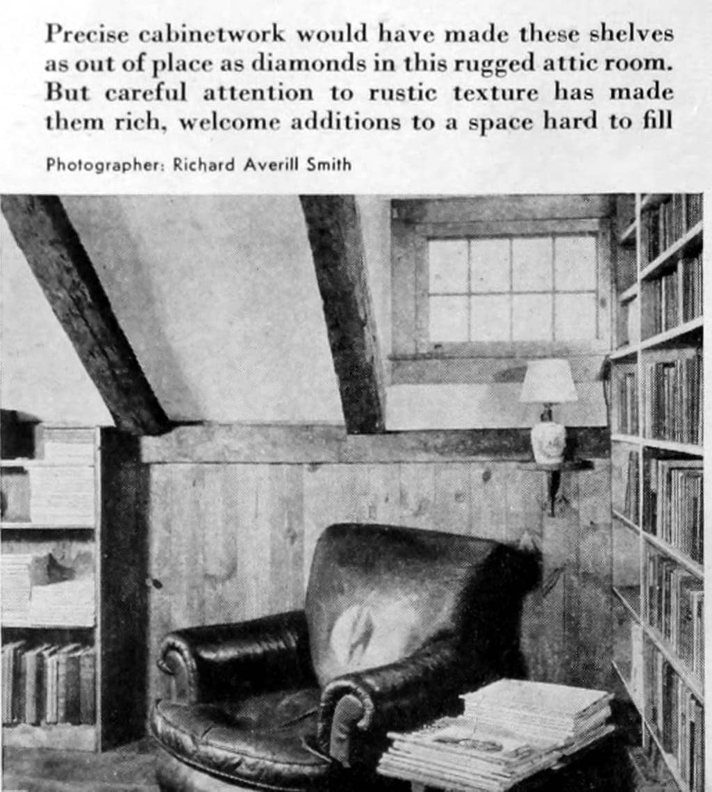 Home library - Books and shelving from 1941 (7)